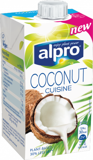 alpro alpro plant based alternative to cream coconut