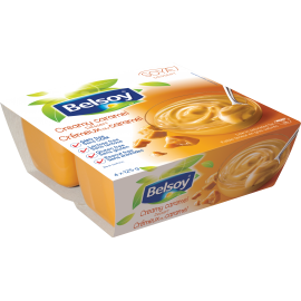 Product packaging of Belsoy Dessert Caramel