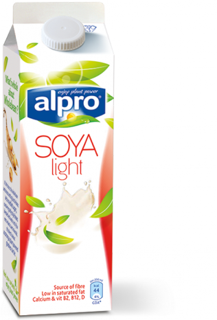 Alpro soya plain drink light fresh for Alpro soya cuisine light