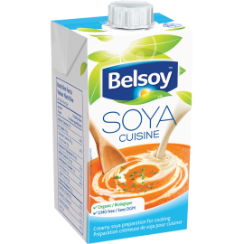 Product packaging of Belsoy Soya Cuisine
