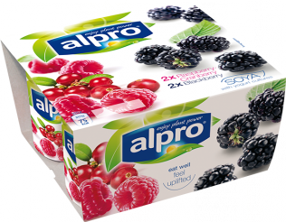 Alpro Raspberry-Cranberry & Blackberry