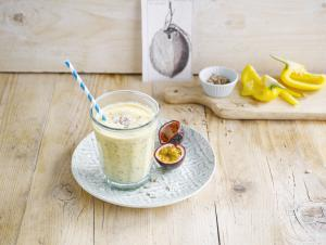The coconut passion smoothie