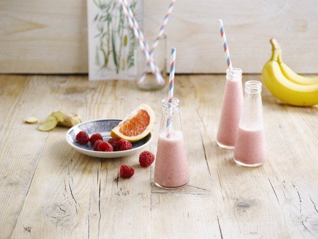 Lo smoothie rosa all'avena