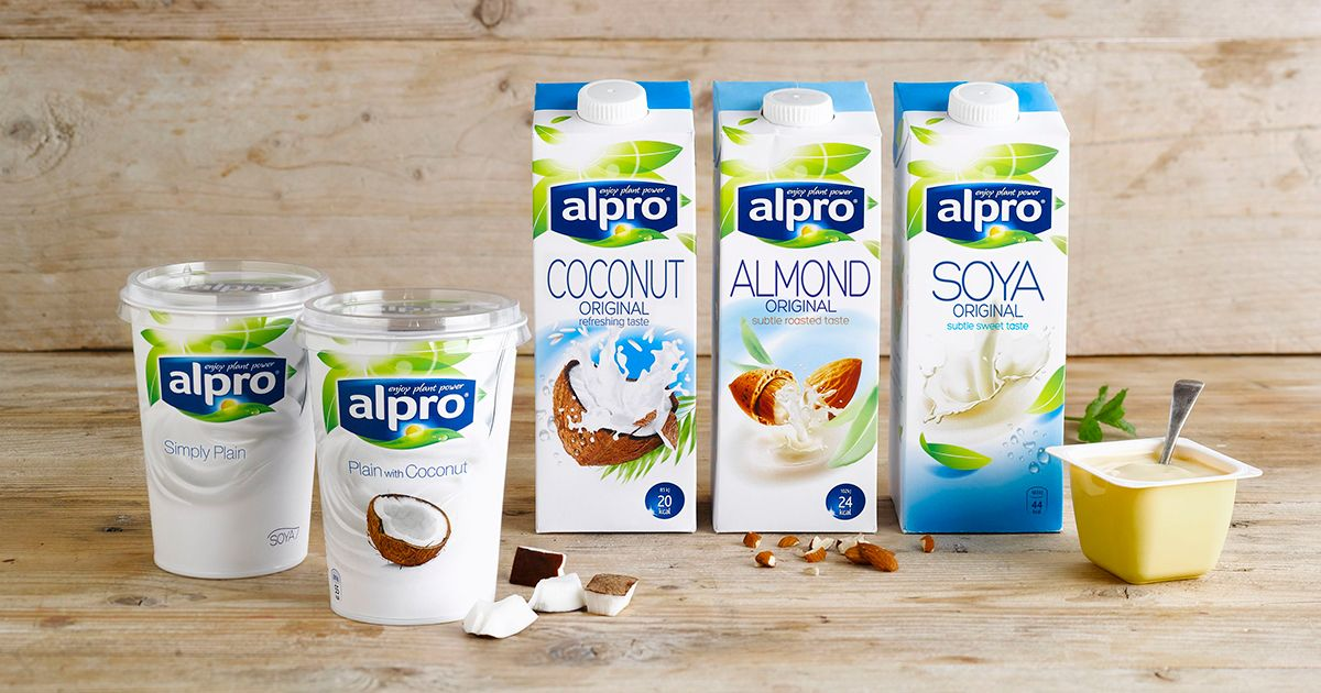 Alpro product overview for Alpro soja cuisine