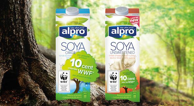 Alpro & le WWF unissent leurs forces pour protéger nos forêts