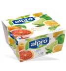 Produktpakning av Alpro Blodappelsin & Sitron med lime