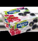 Tuotepakkaus Alpro Vadelma-Karpalo & Karhunvatukka