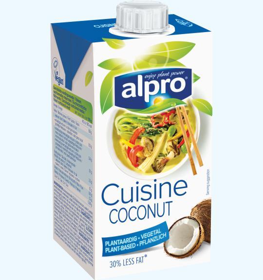 N v nyi alap f z kr mek k kusz f z kr m alpro for Alpro coconut cuisine