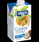 אריזת מוצר של אלפרו לבישול על בסיס קוקוס 250 מ