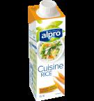 אריזת מוצר של אלפרו לבישול על בסיס אורז 250 מ