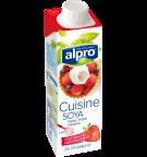 Produktpakning av Alpro Soya Alternativ til Kremfløte