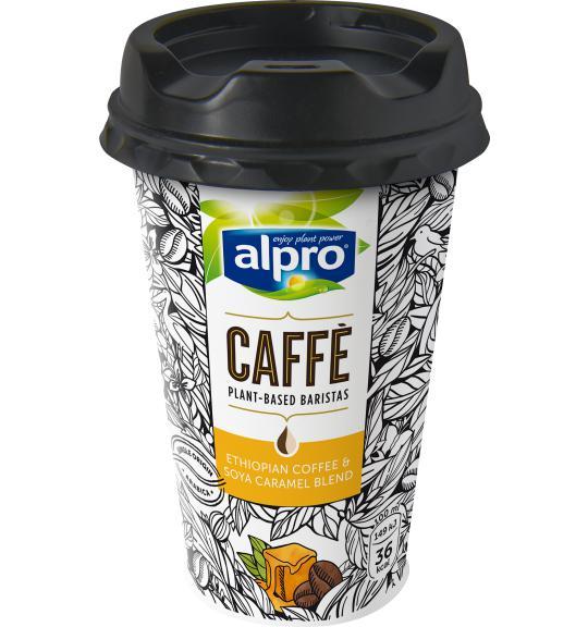 Caffè Ethiopische Koffie Met Soja Karamel Ijskoffie Alpro