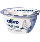 Product packaging of Greek Style Blueberry