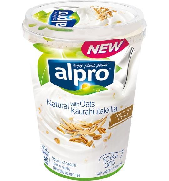 Alpro | Alternativa vegetal ao Iogurte | Grande | Natural