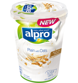 Alpro Plain with Oats