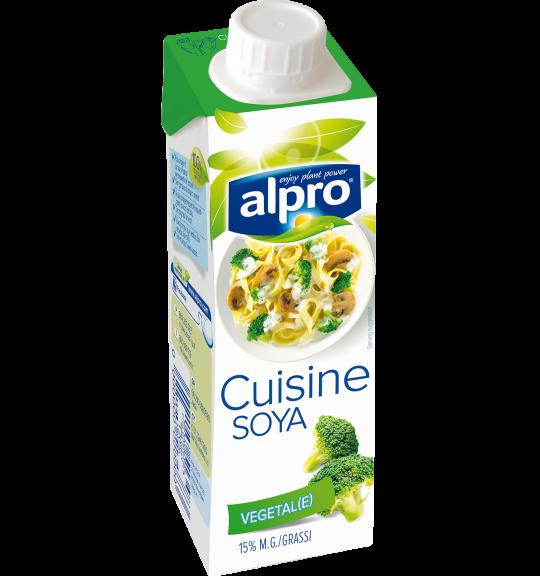 Confezione di Alpro Cuisine alla Soia