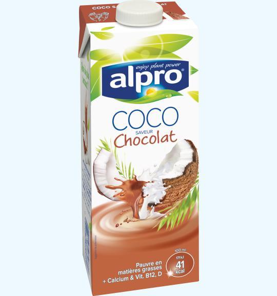 Super Alpro | Boisson à base de Noix de Coco | Chocolat | Alpro VF74