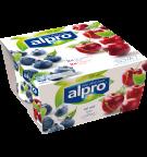Alpro borůvkový & třešňový (4x125g)