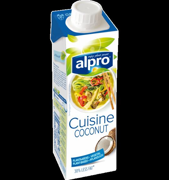 Alternative v g tale la cr me noix de coco cuisine alpro for Alpro soja cuisine