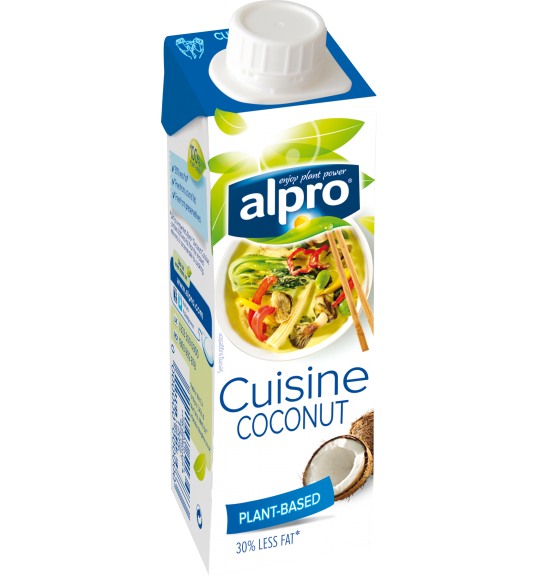 Product packaging of Alpro Coconut Cuisine