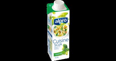 Alternatives v g tales la cr me soja cuisine alpro for Alpro soja cuisine