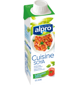 Alpro naturally lactose free dairy replacements for Alpro soya cuisine