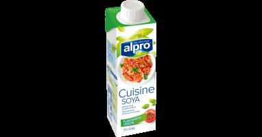 Plantaardig alternatief voor room klein soya cuisine for Alpro soya cuisine