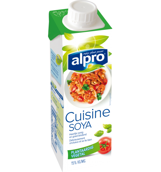 Product verpakking van Soja Cuisine