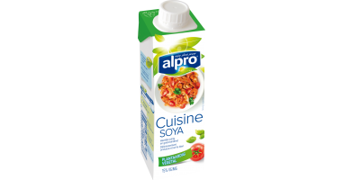 Alternative v g tale la cr me petit soya cuisine alpro for Alpro soya cuisine
