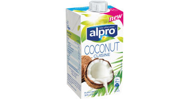 Alpro plant based alternative to cream coconut cuisine for Alpro soya cuisine