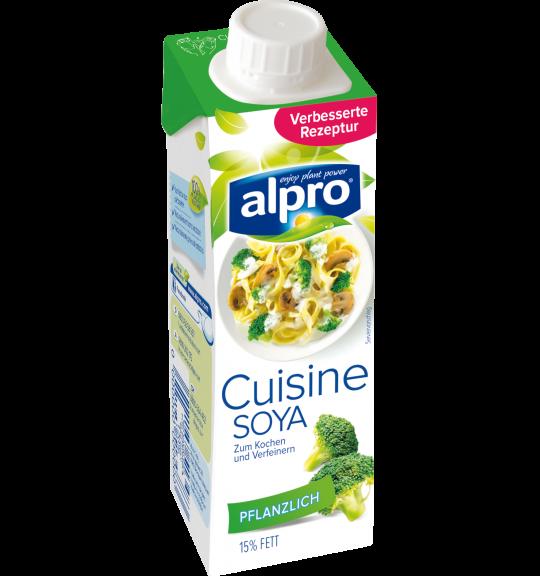 Produkt Verpackug von Soja-Kochcrème Cuisine