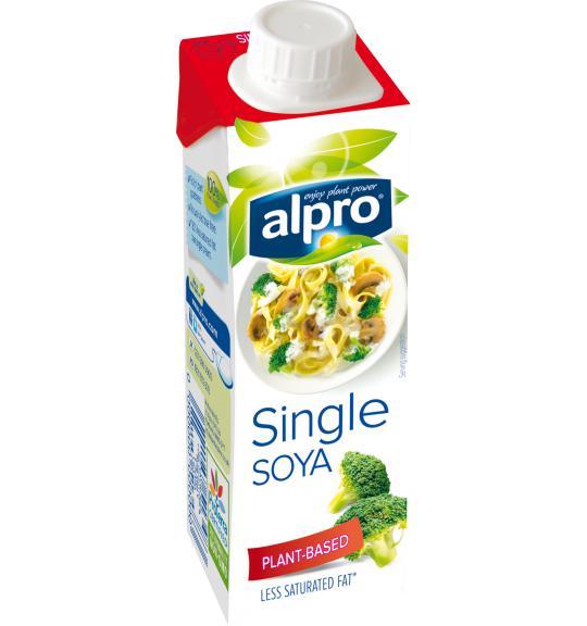 Plant Based Cream Alternative Small Soya Single Alpro