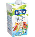Product packaging of Alpro Rice Cuisine
