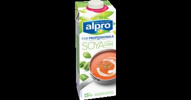 Alternative v g tale la cr me grand soya cuisine alpro for Alpro soya cuisine