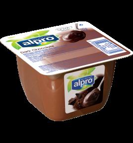 balenie produktu Alpro dezert tmavá čokoláda