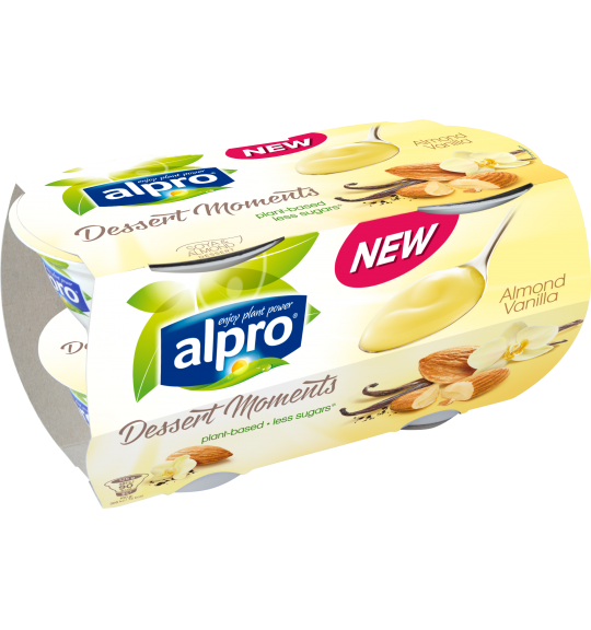 Product packaging of Almond Vanilla