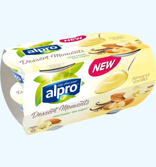 alpro i desserts i dessert moments i almond vanilla alpro. Black Bedroom Furniture Sets. Home Design Ideas