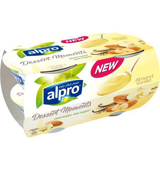 Alpro Desserts Dessert Moments Hazelnut Chocolate Alpro