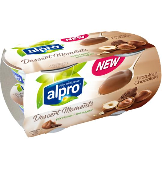 Alpro Desserts Dessert Moments Hazelnut Chocolate Alpro