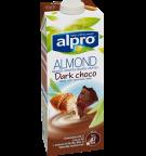produktemballage til Alpro Mandeldrik Mørk Choko