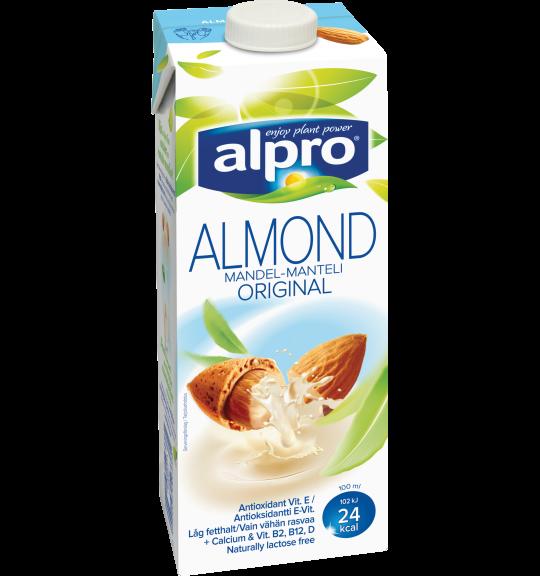 Produktförpackning av Alpro Mandel Original