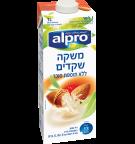 אריזת מוצר של אלפרו משקה שקדים ללא תוספת סוכר