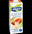 Produktpakning av Alpro Mandel Usøtet