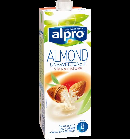 Напиток Alpro Миндальный без содержания сахара