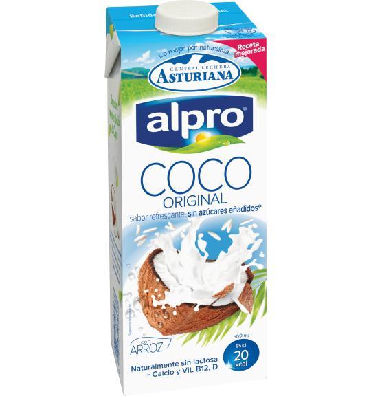 Resultado de imagen de leche coco alpro