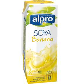 Напиток соевый Alpro Банановый