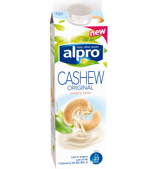 Product packaging of Alpro Cashew Original Chilled
