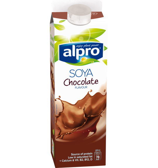 Product packaging of Alpro Soya Chocolate Chilled