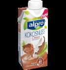 Produkt Verpackug von Kokosnussdrink Choco Fresh