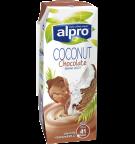 Product verpakking van Alpro Kokosnoot Drink Choco